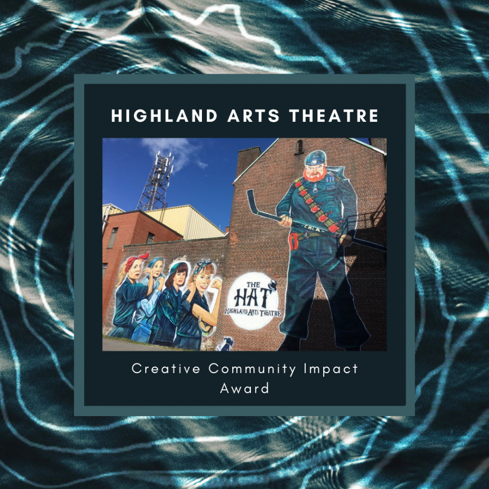 Highland Arts Theatre Award Winner