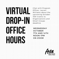 Virtual Drop-in Office Hours