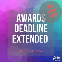 Awards deadline extended