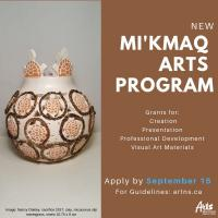 Mi'Kmaq Arts Program