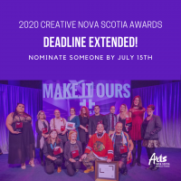 Creative NS Deadline Extended
